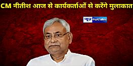 CM नीतीश आज से कार्यकर्ताओं से करेंगे मुलाकात,पार्टी दफ्तर में होंगे जदयू के राष्ट्रीय अध्यक्ष....