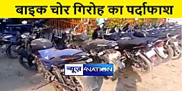 पुलिस ने मोटरसाइकिल चोर गिरोह का किया पर्दाफाश, डेढ़ दर्जन बाइक के साथ दो को किया गिरफ्तार