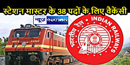 JOB ALERT: हो जाएं तैयार, भारतीय रेलवे में स्टेशन मास्टर के पदों के लिए निकली वैकेंसी, 25 जुलाई तक कर सकतें हैं आवेदन