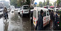 राष्ट्रीय राजधानी दिल्ली समेत उत्तर भारत के कई राज्यों में भारी बारिश, बढ़ी ठंड
