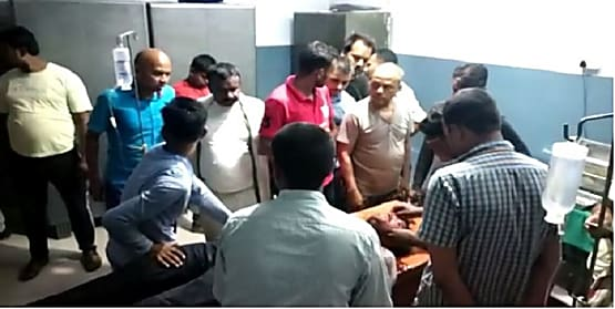 जहानाबाद बीच शहर में अपराधियों ने तेल व्यवसायी को मारी गोली, हालत चिंताजनक