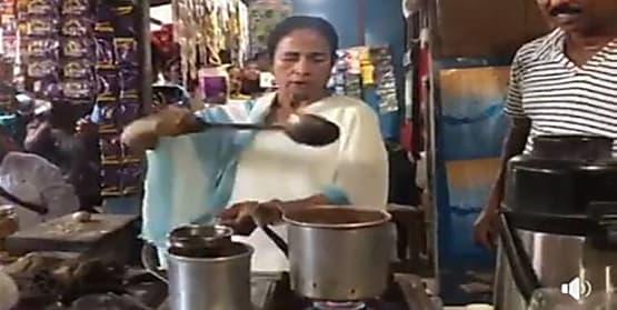 PM मोदी की राह चली ममता, जब सड़क किनारे बंगाल की सीएम ने लोगों के लिए बनाई चाय...