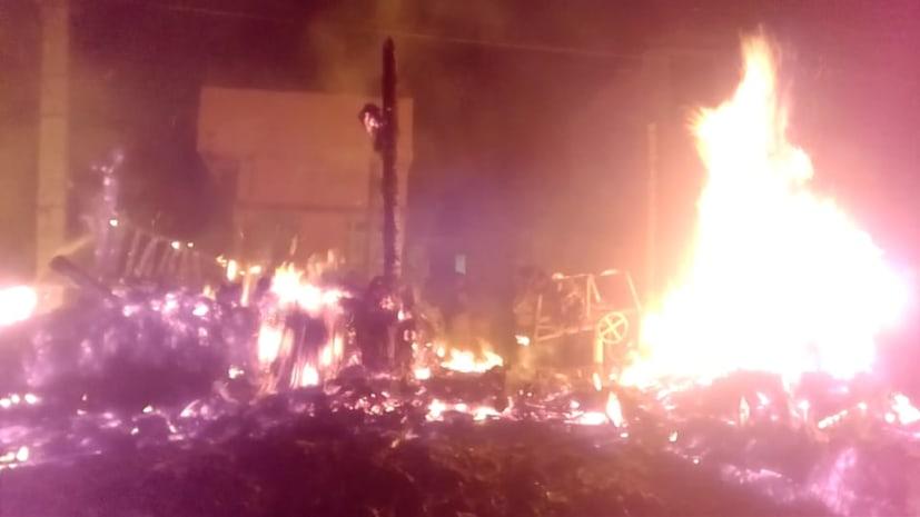 पटना में दुकान में लगी भीषण आग, लाखों का हुआ नुकसान