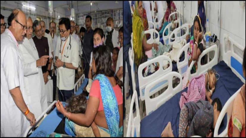 चमकी बुखार ने नोच डाला केंद्र और बिहार सरकार के स्वास्थ्य सेवा के चेहरे से नकाब...