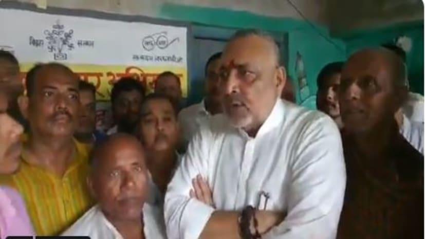 गिरिराज सिंह बोले ,बेगूसराय में बाढ़ से स्थिति  भयावह,अधिकारियों से कर रहा हूं बात