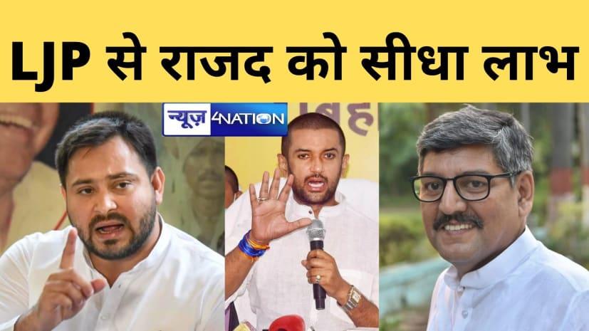 चिराग ने तेजस्वी को सीधा फायदा पहुंचाया, JDU के बाद कांग्रेस ने भी खोली पोल,कहा-LJP की वजह से RJD को मिली 75 सीटें
