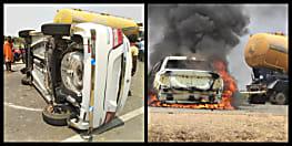पटना में स्विफ्ट डिजायर और ऑटो की आमने-सामने टक्कर, 1 की मौत, 6 घायल