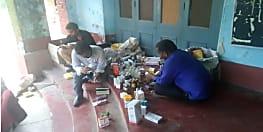 गया में दवा दुकानों की ड्रग इंस्पेक्टर ने की जांच, एक गिरफ्तार