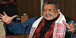 गिरिराज सिंह ने बिहारियों को किया सचेत, कहा-ओवैसी से बिहार की सामाजिक समरसता को खतरा, बिहारवासी अपने भविष्य के बारे में सोचें
