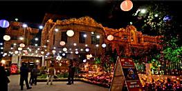 क्रिसमस के जश्न में डूबी राजधानी, प्रभु जीसस के जन्मोत्सव को लेकर चर्चों में हुई है विशेष सजावट