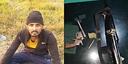 पटना STF ने 25 हजार के इनामी कुख्यात चंदन सिंह को किया अरेस्ट, हथियार बरामद