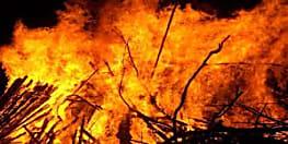 पुआल के ढेर में लगी आग, खेल रहे 3 बच्चों की मौत, CM ने किया मुआवजे का ऐलान