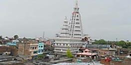 शारदीय नवरात्र बड़हिया में विख्यात 156 फीट ऊंचाई वाली मां बाला त्रिपुर सुंदरी की महिमा है निराली, मंगलवार और शनिवार को लोग टेकते हैं मत्था