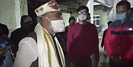 औचक निरीक्षण के लिए एसकेएमसीएच पहुंचे केंद्रीय स्वास्थ्य राज्य मंत्री ने कहा- मार्च तक काम पूरा नही हुआ तो वसूलेंगे जुर्माना