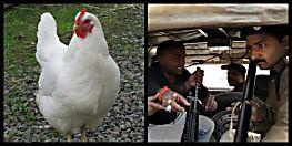 फ्री में मुर्गा नहीं देने पर पुलिस वालों ने की जमकर पिटाई