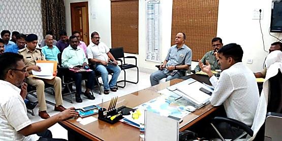नालंदा में आयोजित होगा 550 वां प्रकाश पर्व, तैयारियों के लिए डीएम ने की बैठक