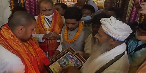सिया के हुए चिराग-लगाया जयकारा, आज सुबह 9.30 बजे चिराग पासवान जी ने माता सीता के जन्मस्थली पर पूजा-अर्चना की