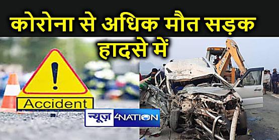 सड़क दुर्घटनाओं में शामिल वाहनों का रद्द होगा पंजीयन, एक साल में 68 सौ से अधिक लोगों की मौत