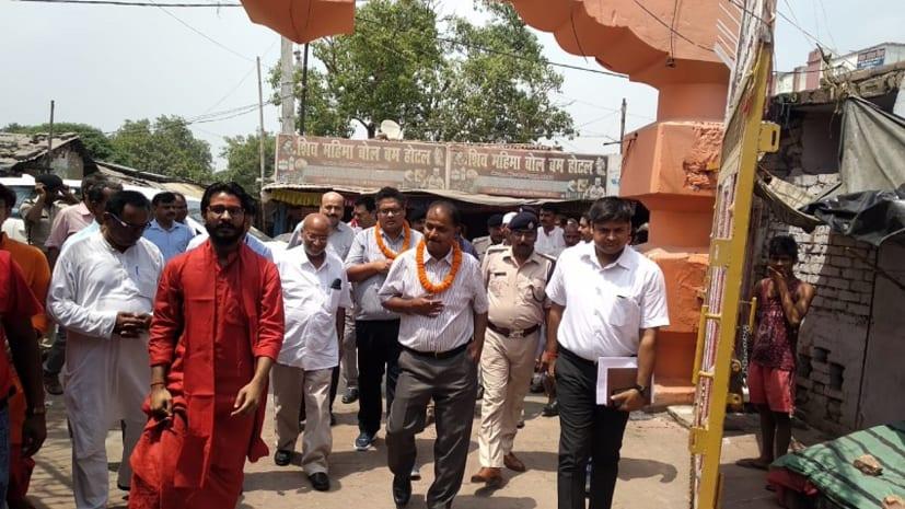 मोतिहारी के बाबा सोमेश्वरनाथ मंदिर का होगा कायाकल्प, मुख्य सचिव दीपक कुमार ने दिया आश्वासन