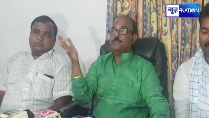JDU नेता नागमणि ने उपेन्द्र कुशवाहा को बताया 'बकरी', कहा - मैंने ही पहनायी थी 'बाघ की खाल'