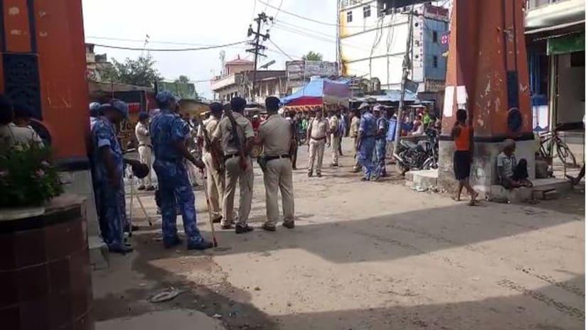 अनंत सिंह की पेशी को लेकर बाढ़  कोर्ट पुलिस छावनी में तब्दील, ग्रामीण एसपी मौके पर मौजूद