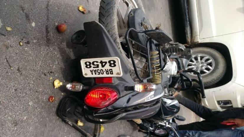मोतिहारी में ट्रक और बाइक में आमने-सामने टक्कर, घटना में बाइक सवार की मौके पर मौत