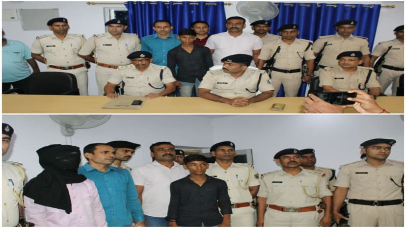 नवादा पुलिस को मिली सफलता, 72 घंटे के अंदर अपहरणकर्ता के चंगुल से युवक को छुड़ाया, 1 गिरफ्तार