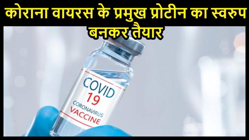 वैज्ञानिकों ने बनाया कोरोना वायरस का नया प्रोटीन प्रारुप ,मिलेगी वैक्सीन बनाने में बहुत मदद