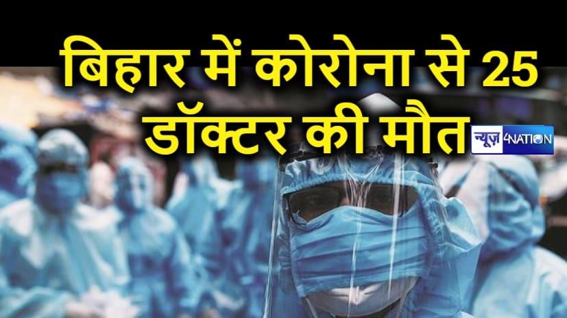 बिहार में कोरोना ने ली 25 डॉक्टरों की जान, मृतकों की लिस्ट जारी कर सरकार से आर्थिक मदद की मांग