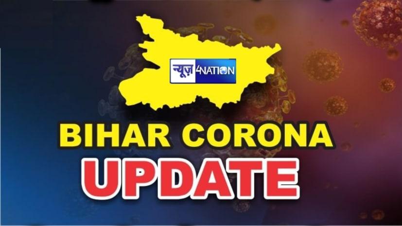 बिहार में मिले कोरोना के1444 नए मरीज, एक्टिव केसेज की संख्या हुई 22837