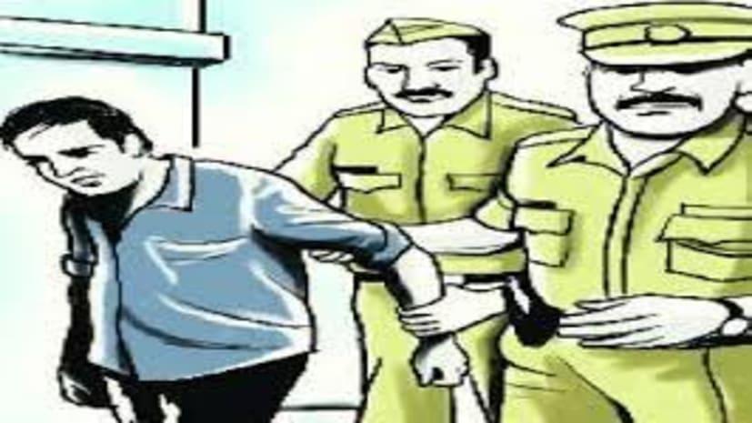 आरा में 7 लुटेरा गिरफ्तार, 2 कट्टा और 50 गोली बरामद