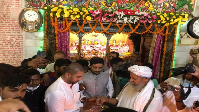 सिया के हुए चिराग-लगाया जयकारा, LJP सुप्रीमो ने माता सीता की जन्मस्थली पर की पूजा-अर्चना