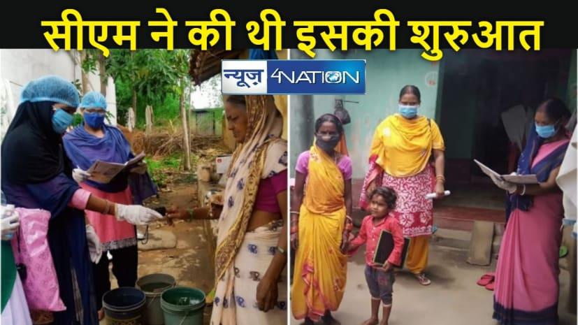 """JHARKHAND NEWS: देवघर: कोरोना संक्रमण को खत्म करने के लिए """"ग्राम स्तर पर सर्वे एवं रैपिड एंटीजन जांच कार्यक्रम"""" की शुरुआत"""