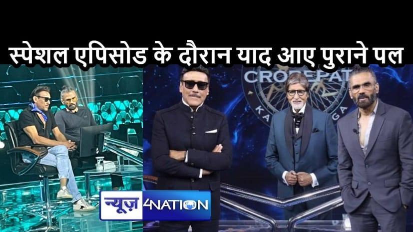 ENTERTAINMENT NEWS: जैकी श्रॉफ ने बताया अलग तरह की बोली का राज, जानें क्यों अभिषेक बच्चन ने उन्हें बिग बी से मिलने से रोका था
