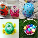 Some of the beautiful Easter eggs we have made