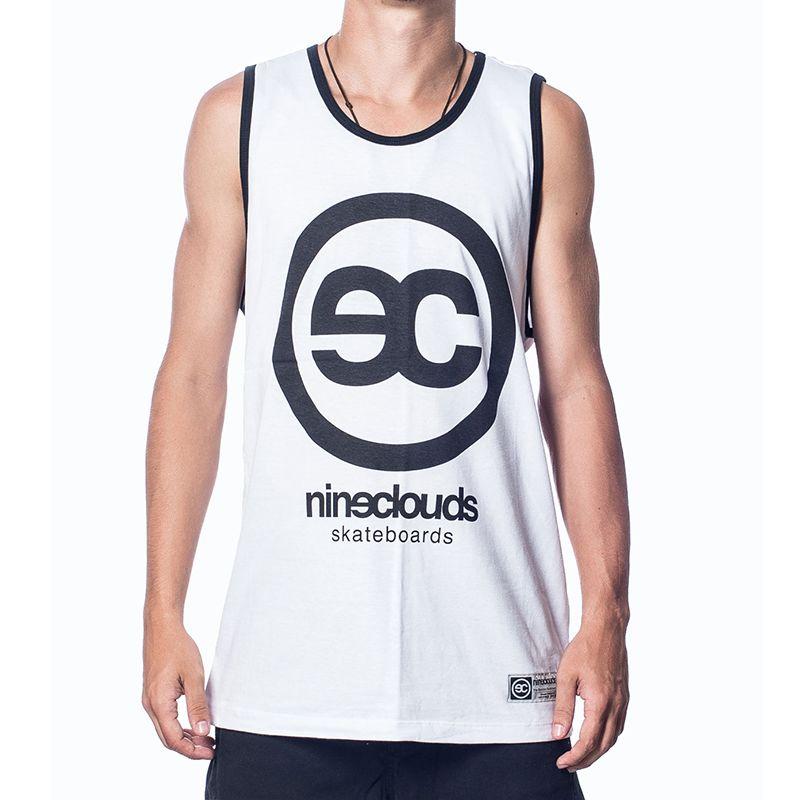 camiseta-nineclouds-regata-logo-image