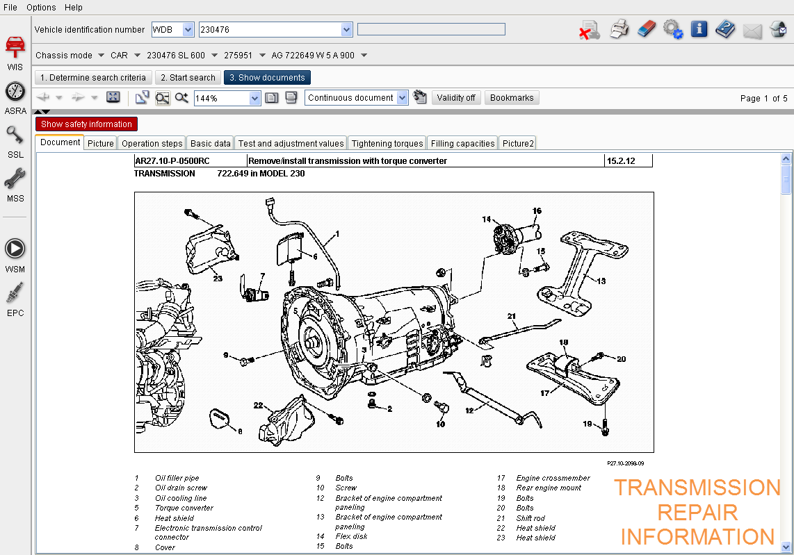 ELECTRONIC PARTS CATALOG (EPC) OFFERS SAVABLE SHOPPING CARTS AS WELL AS  EXPLODED DIAGRAMS FOR EASE OF USE.