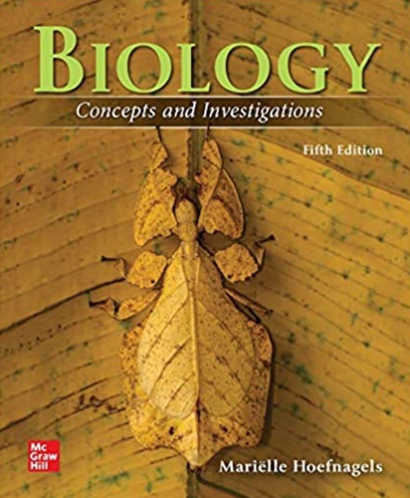 Biology: Concepts & Investigations