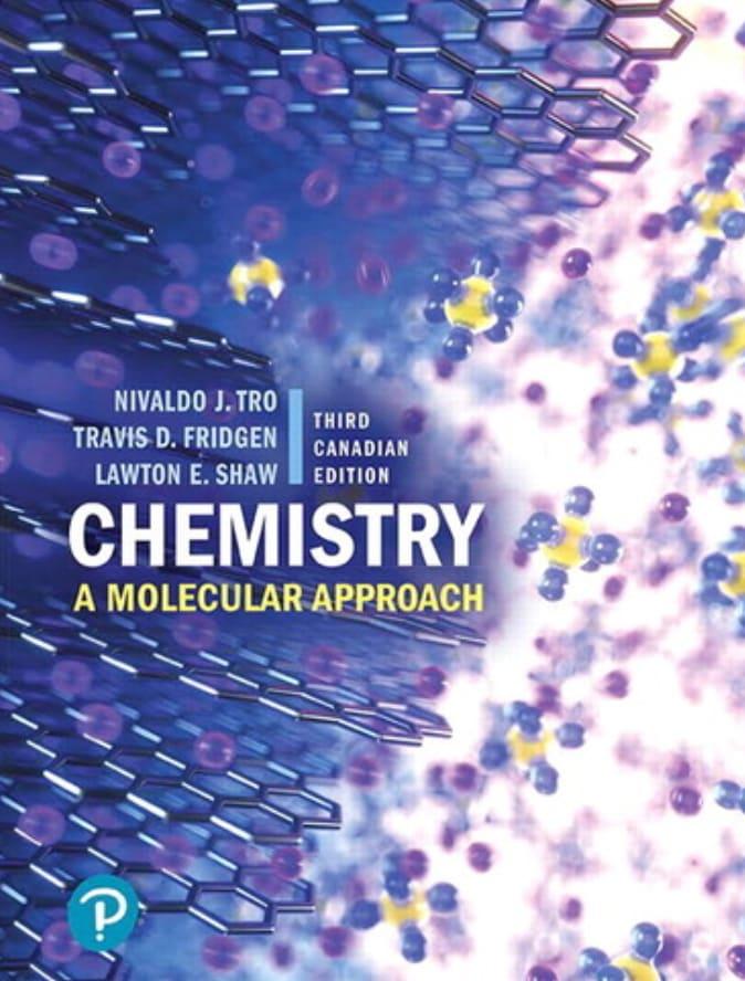 Chemistry: A Molecular Approach (Canadian Edition)