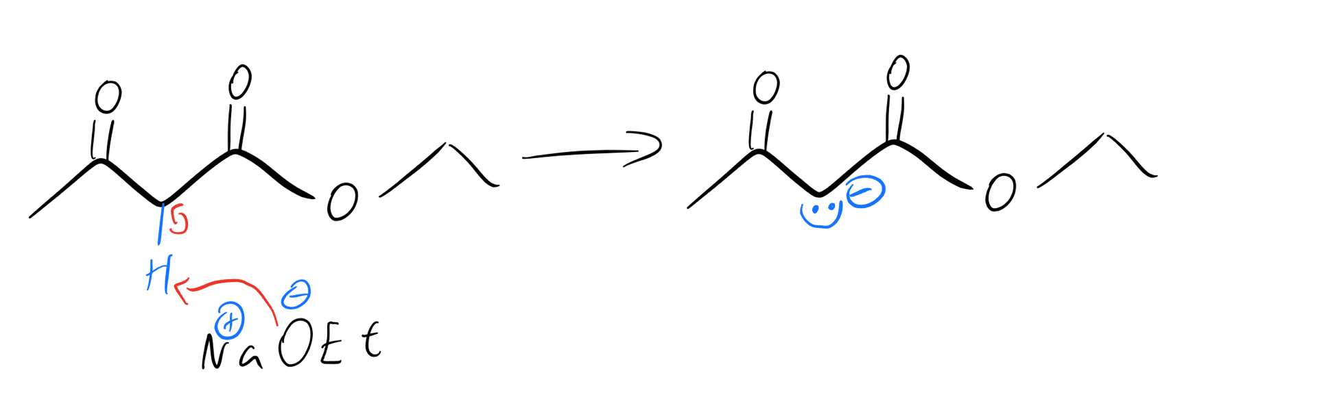 Methylene-enolate-formation
