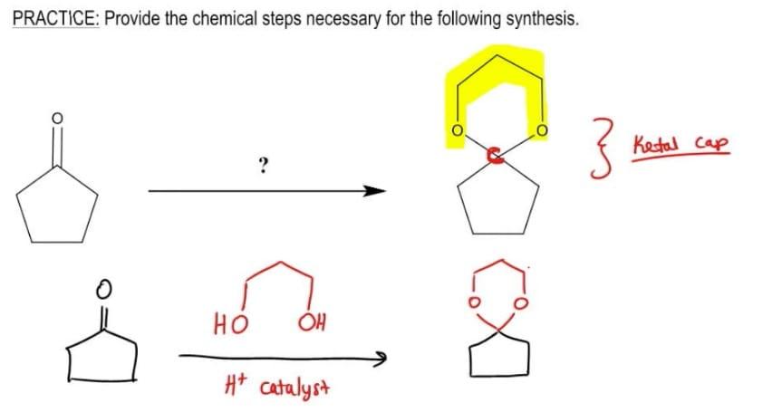 Cyclic acetal