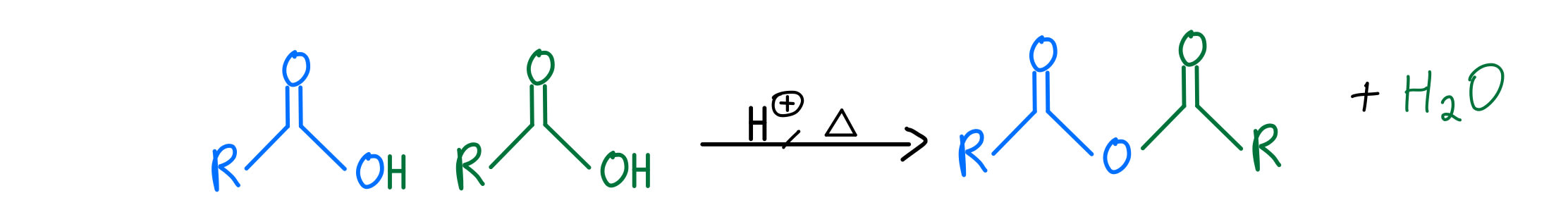 Anhydride formation