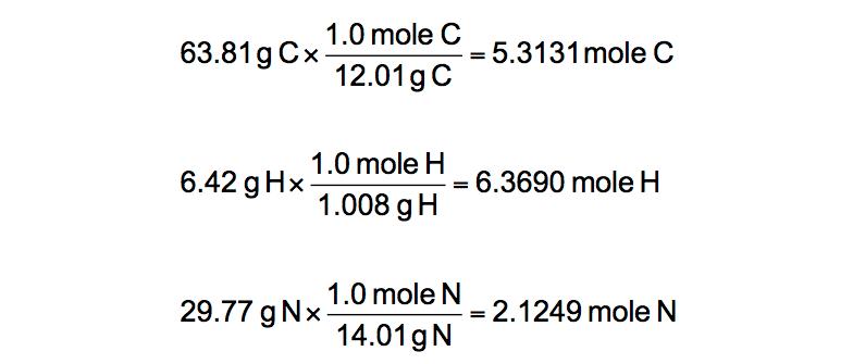 Grams-to-moles-conversion