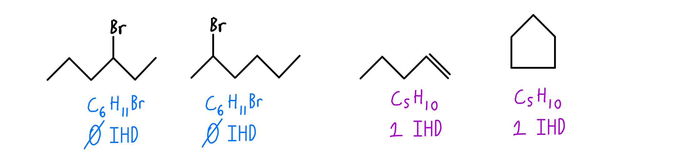 bromohexane-and-pentene-constitutional-isomers