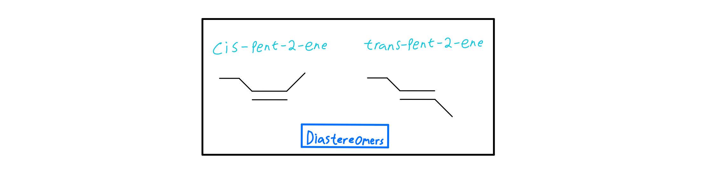 2-pentene-diastereomers