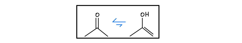 Keto-enol equilibrium
