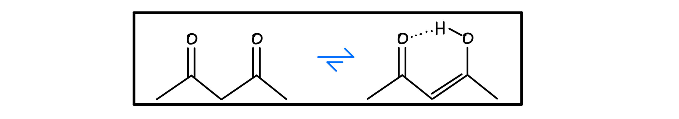 Beta-dicarbonyl tautomerization