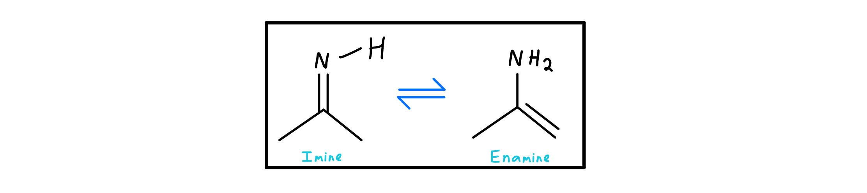 Imine-enamine tautomerization