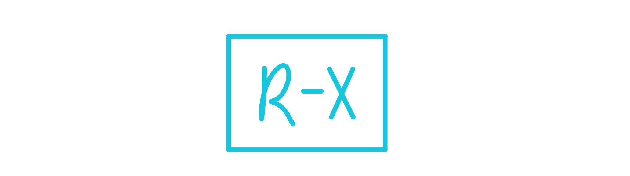 General formula of an alkyl halide