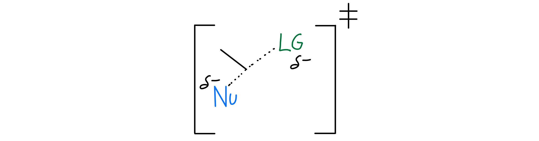 SN2 transition state